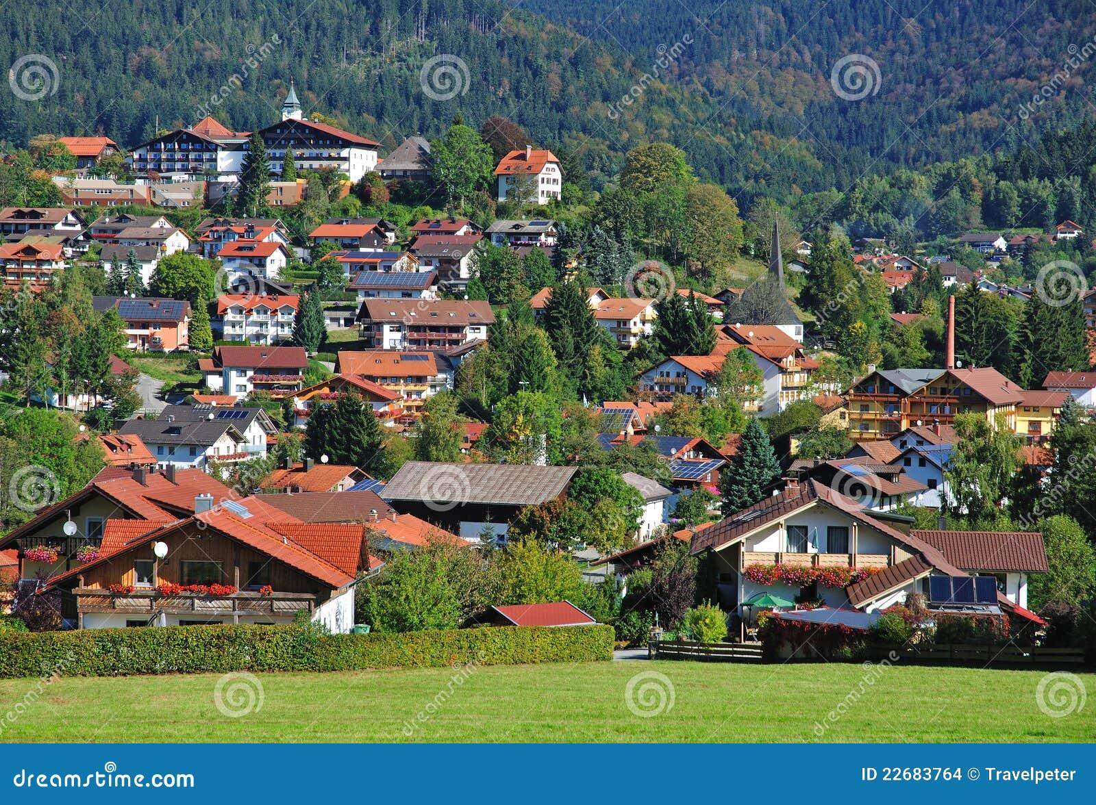 Bodenmais Bayerischer Wald Deutschland Stockfoto Bild Von