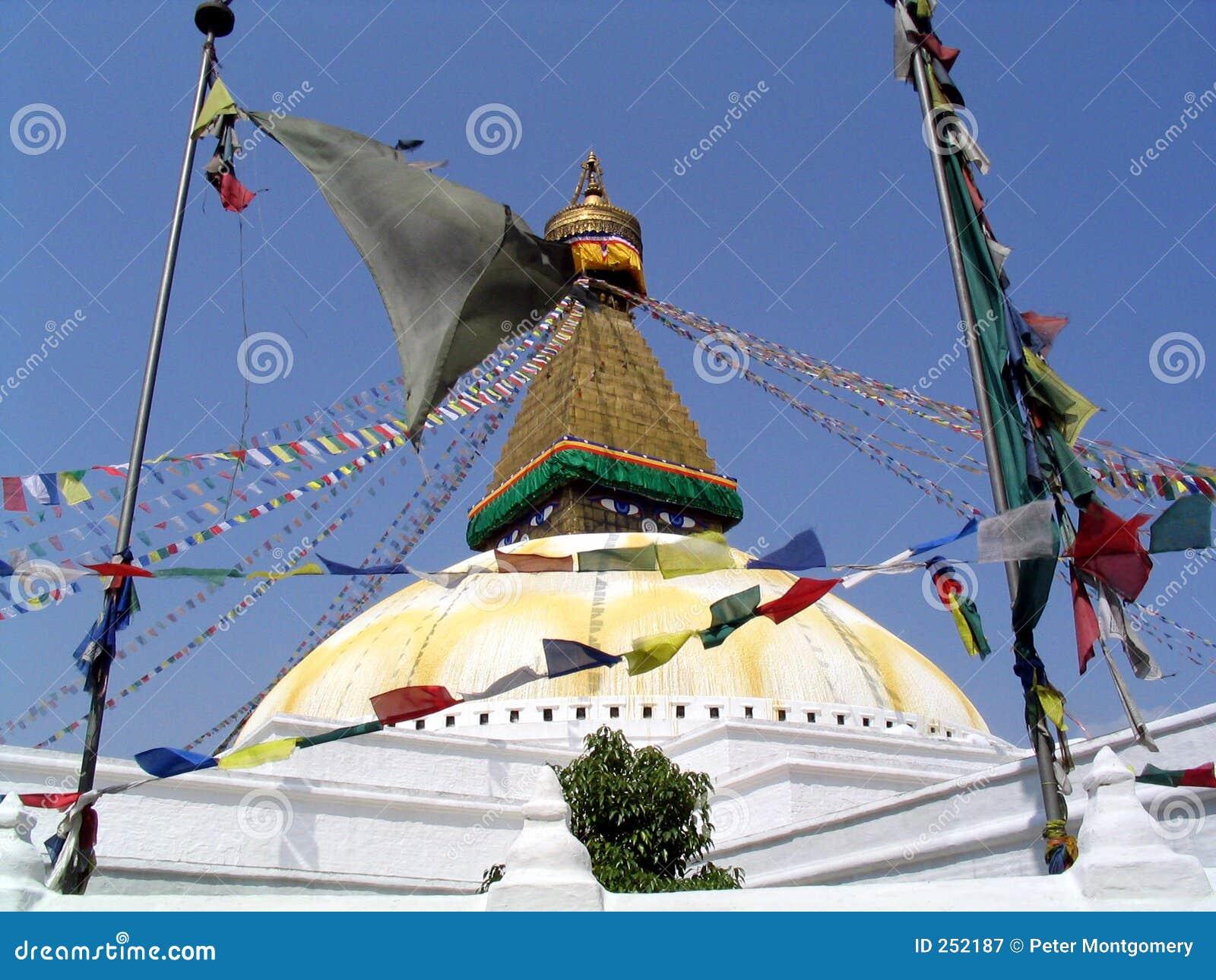 Bodhanathkathmandu nepal stupa