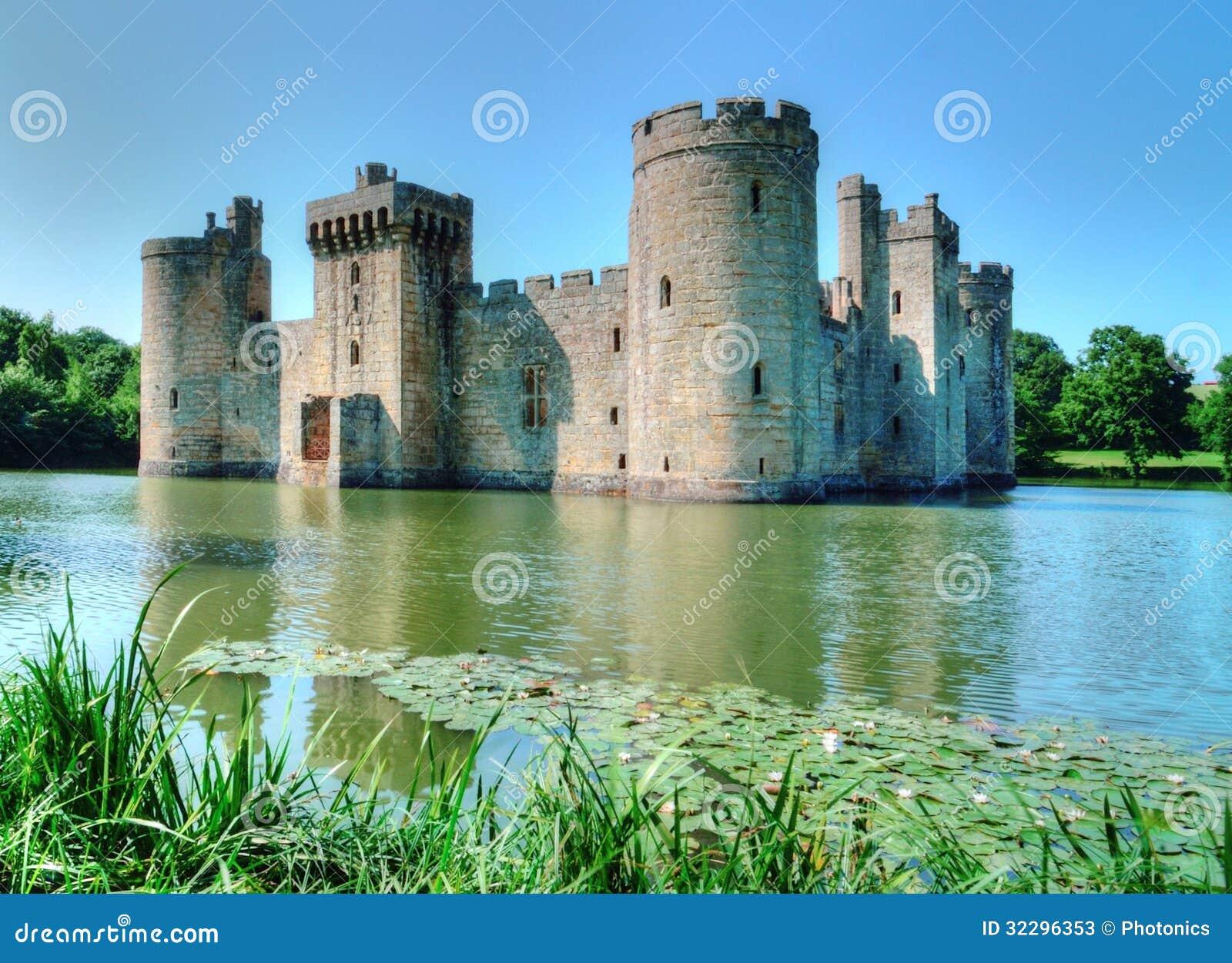 Bodiam Castle Stock Photos Image 32296353