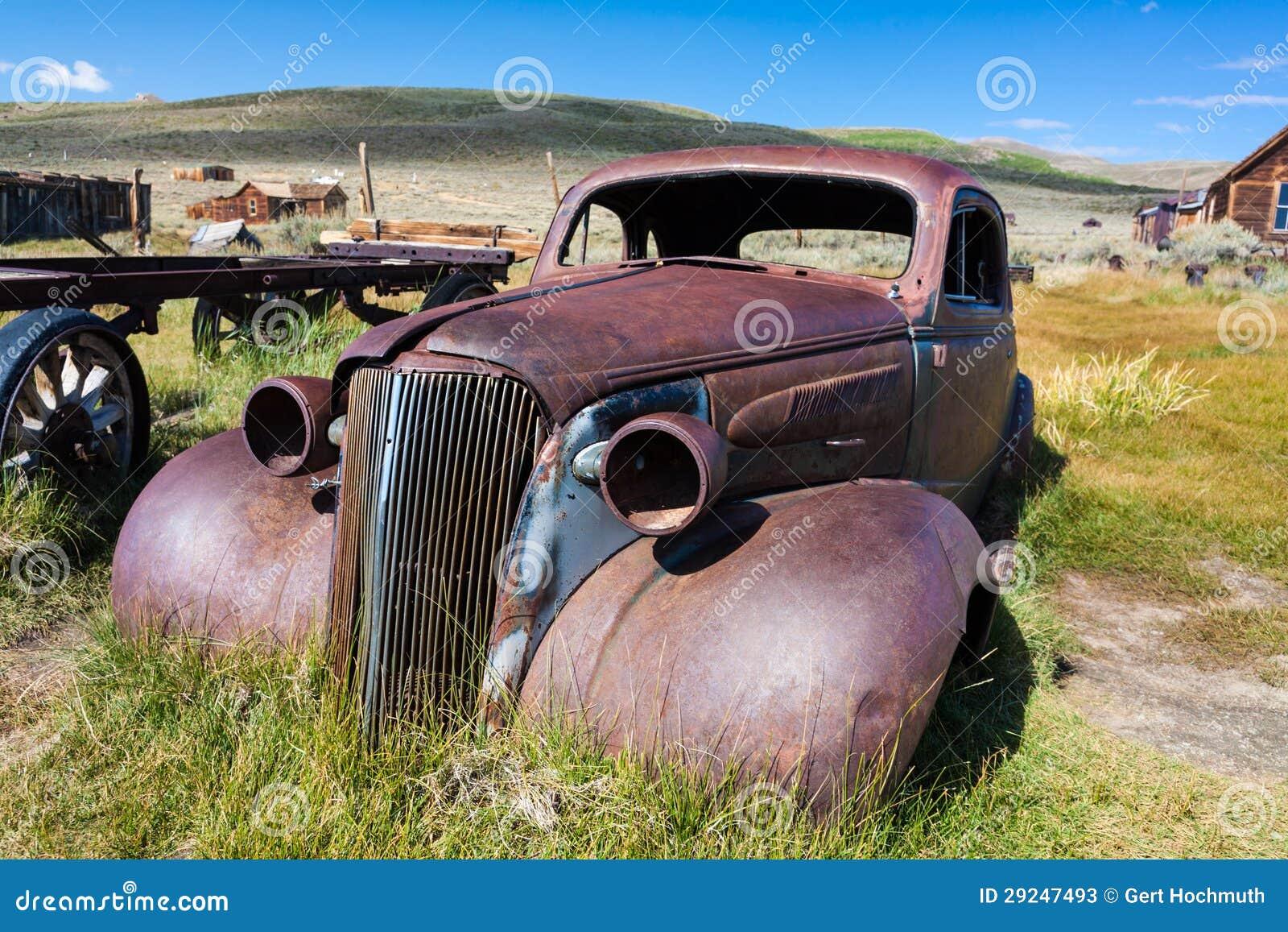 Download Bodie imagem de stock. Imagem de ruínas, americano, turista - 29247493