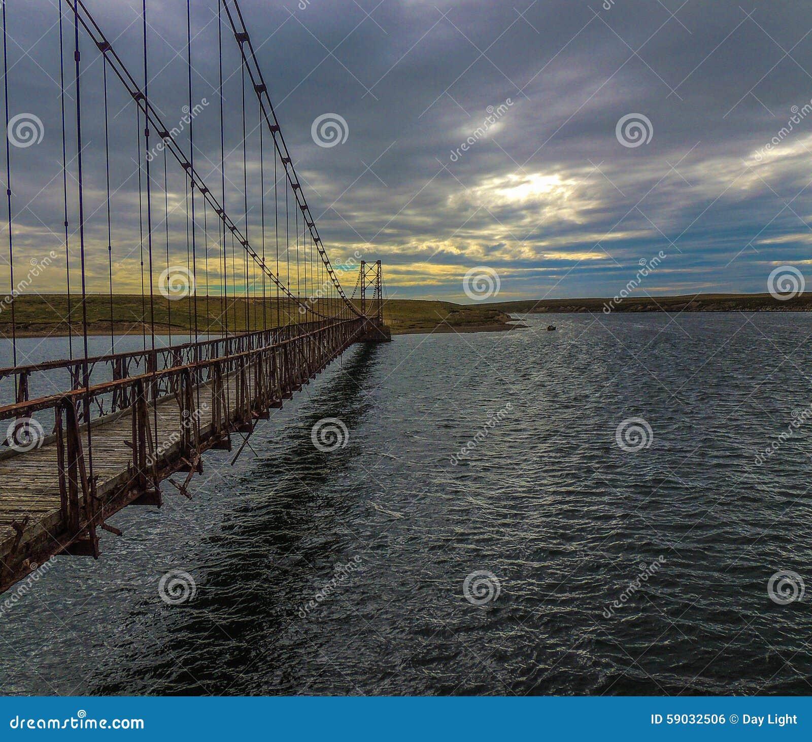 Bodie Creek Suspension Bridge