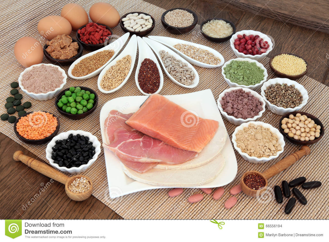 Body building diet food stock photo image 66556194 for Fish eggs food