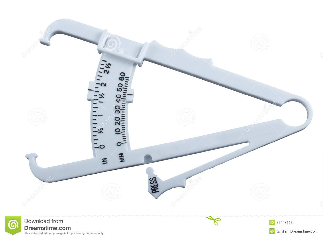 Measuring Body Fat Calipers 85