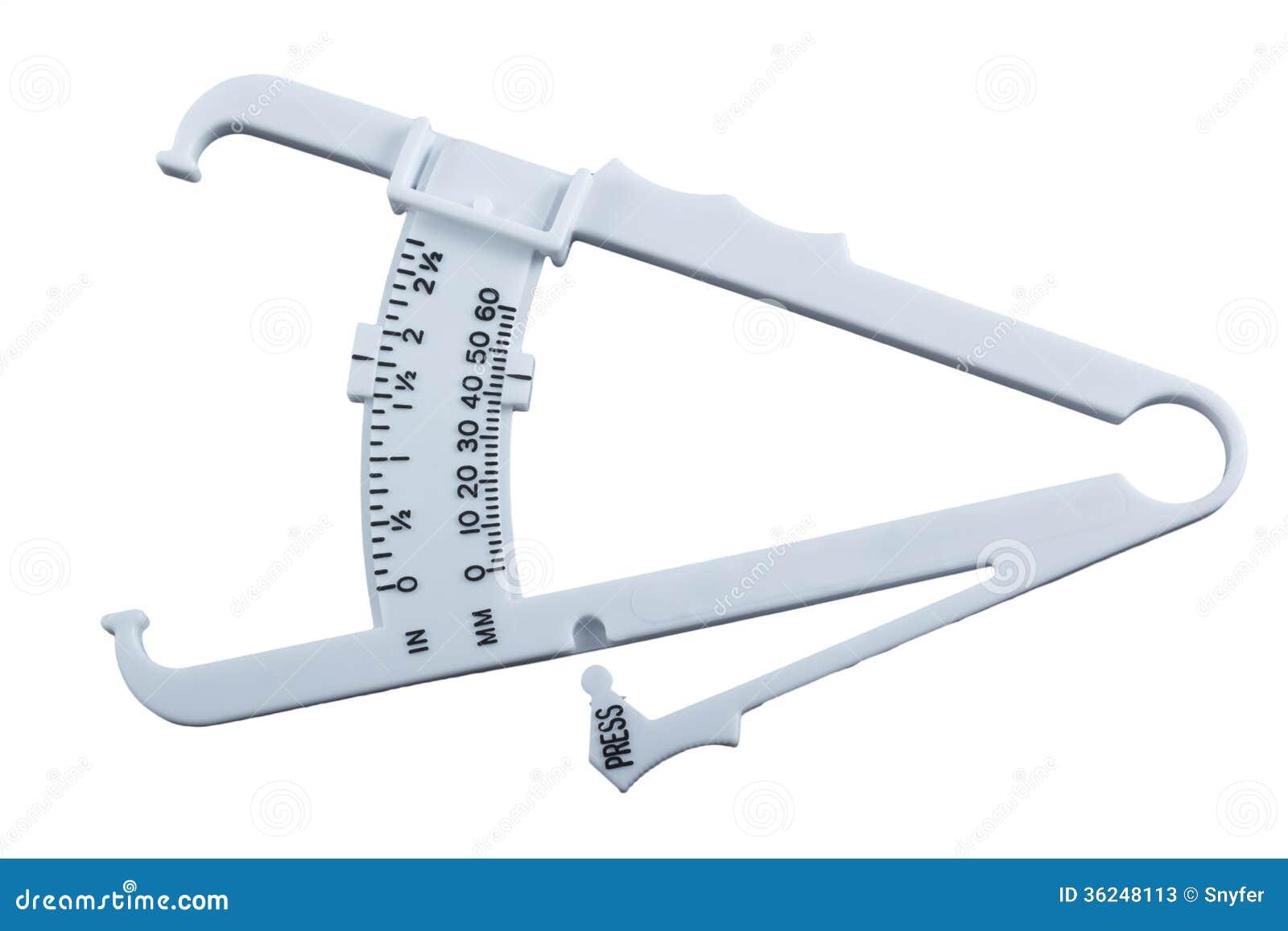 Body Fat Measuring Calipers. Stock Photos - Image: 36248113