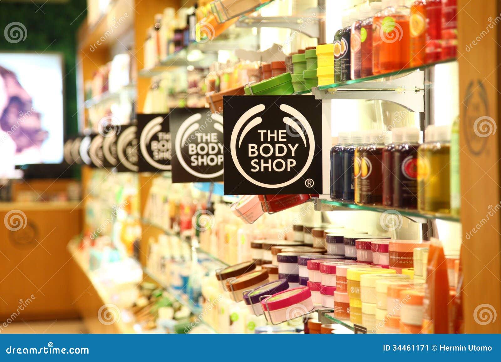 The Body Shop In Cilandak Town Square Jakarta Editorial Photo