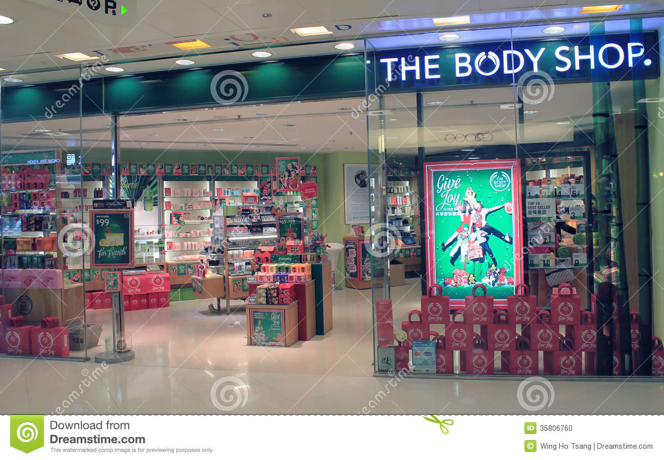 The body shop in hong kong editorial image  Image of hong