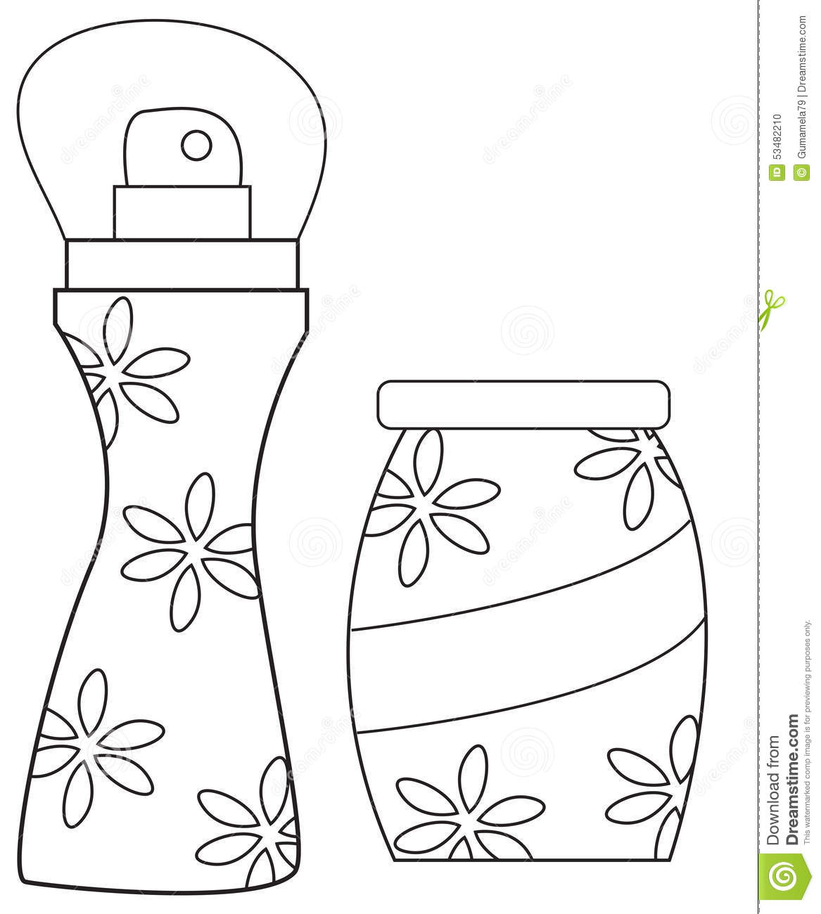 spray can coloring pages - photo#17