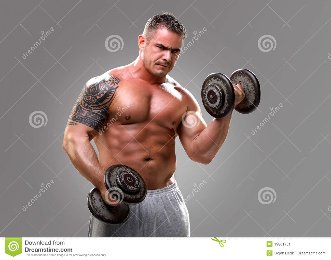 Bodybuilder Lifting Weights High-Res Stock Photo - Getty