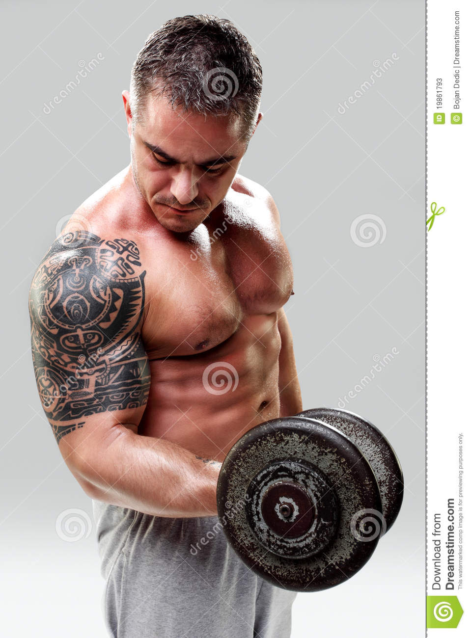 Bodybuilders with Tattoos