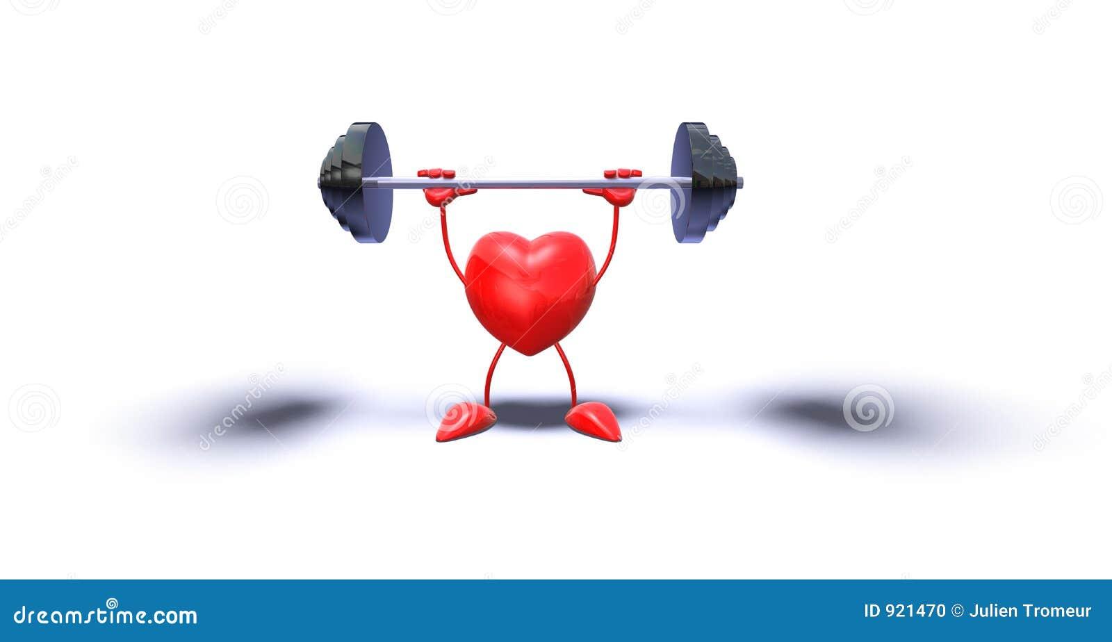Bodybuilding καρδιά