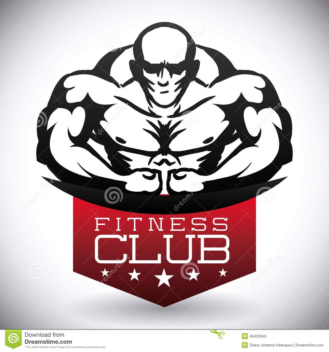 Bodybuilding design stock vector. Illustration of fitness - 45432645 for Bodybuilding Graphic Design  568zmd