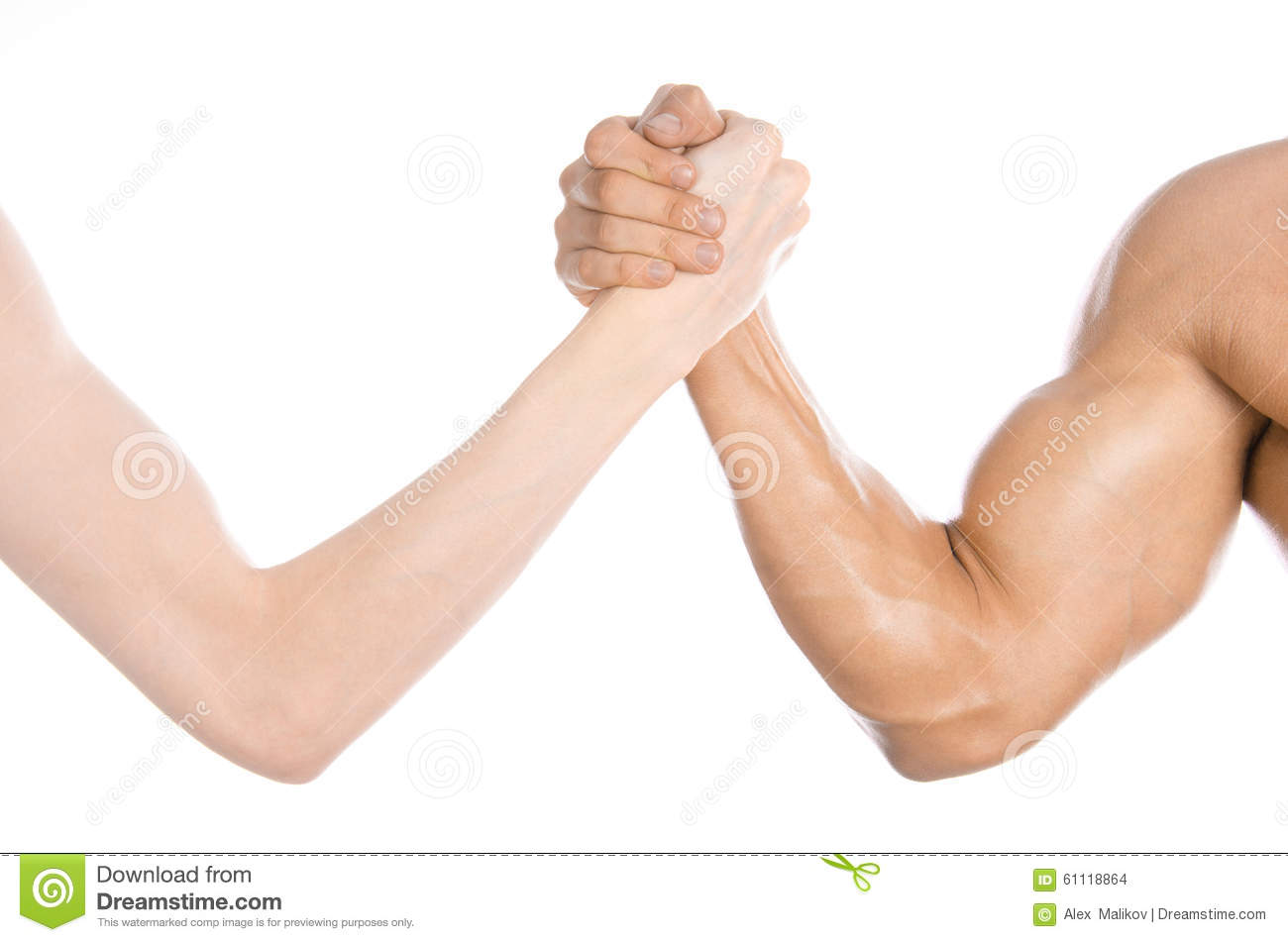 Bodybuilding & Fitness Topic: Arm Wrestling Thin Hand And