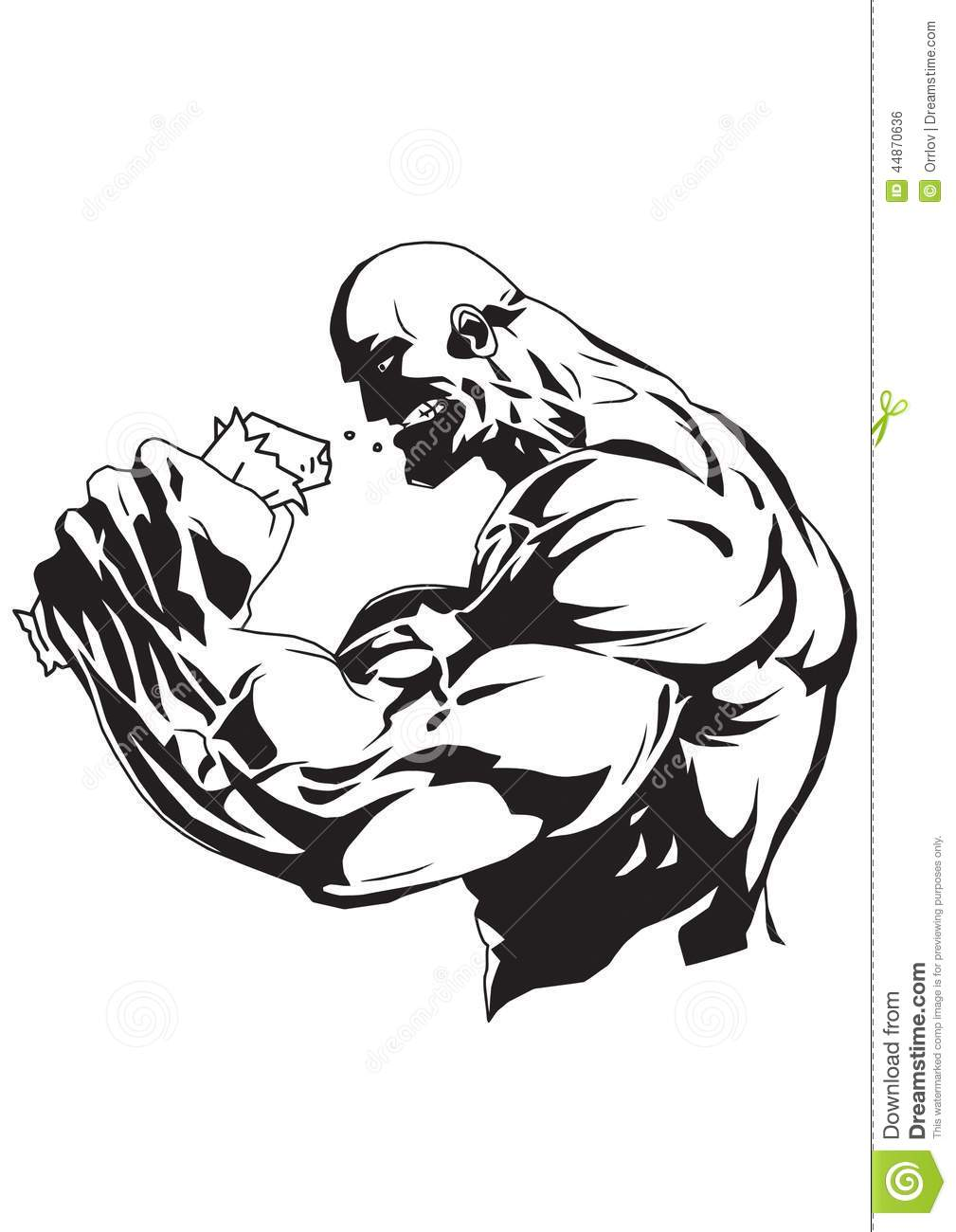 bodybuilding supplement vector illustration