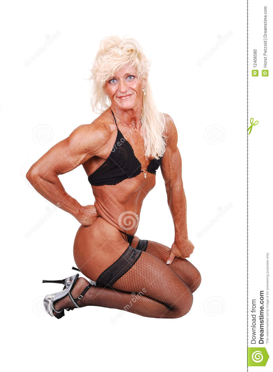 bodybuilding woman. stock photo. image of healthy, lifestyle - 12406580