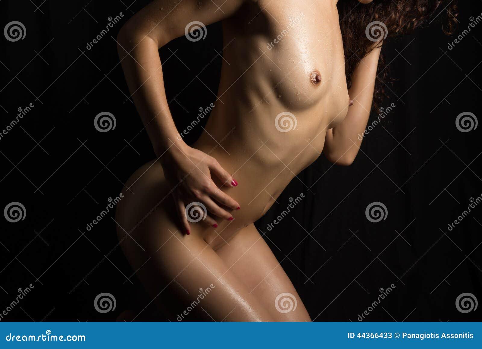 Bodyscape femminile nudo