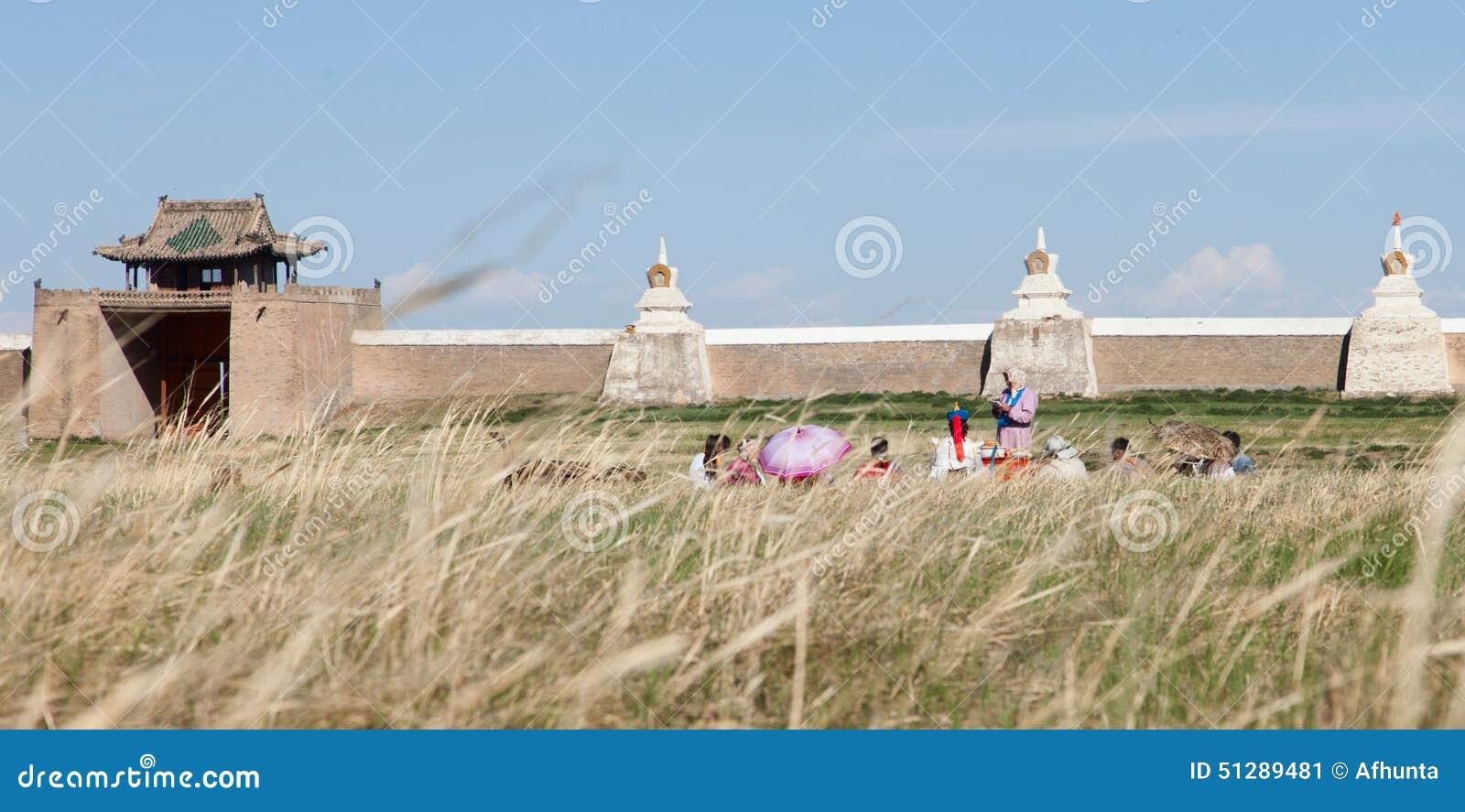 Boeddhistisch klooster Erdene Zu
