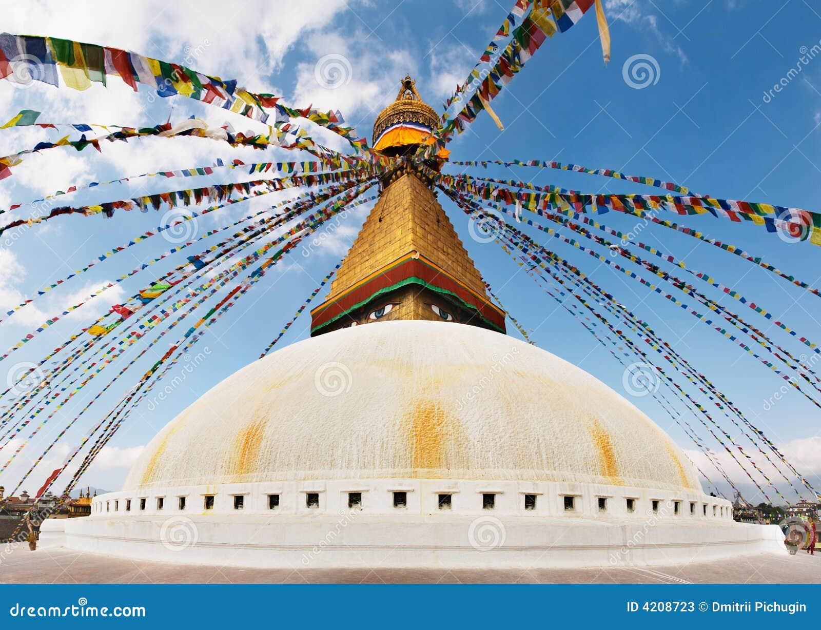 Boeddhistische tempel Bodhnath