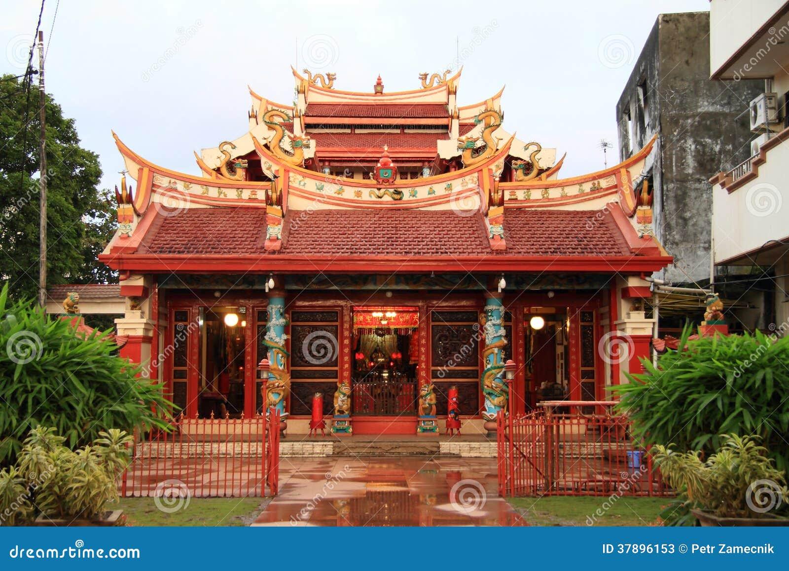 Boeddhistische tempel in Manado