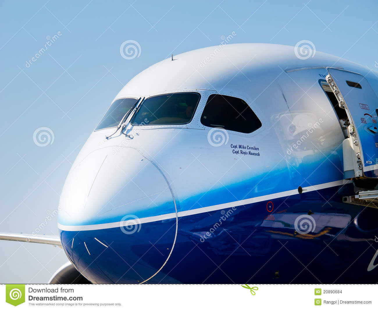 Boeing Dreamliner 787 at International Aviation & Space Salon in ...