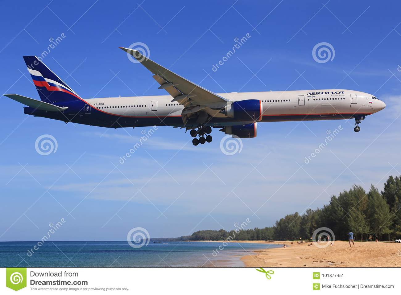 Boeing 777 From Aeroflot Editorial Photo Image Of Airplane 101877451