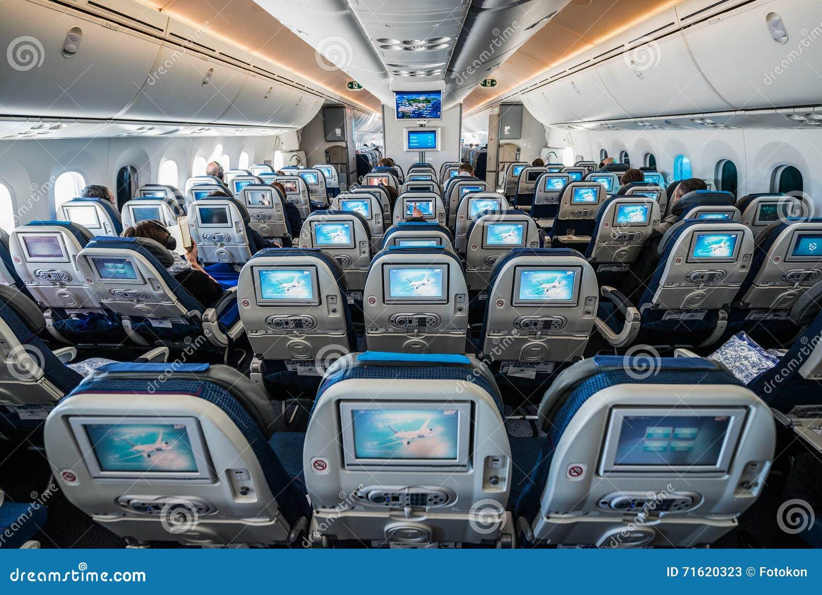 Boeing 787 Dreamliner redaktionelles stockfoto. Bild von sitz - 71620323