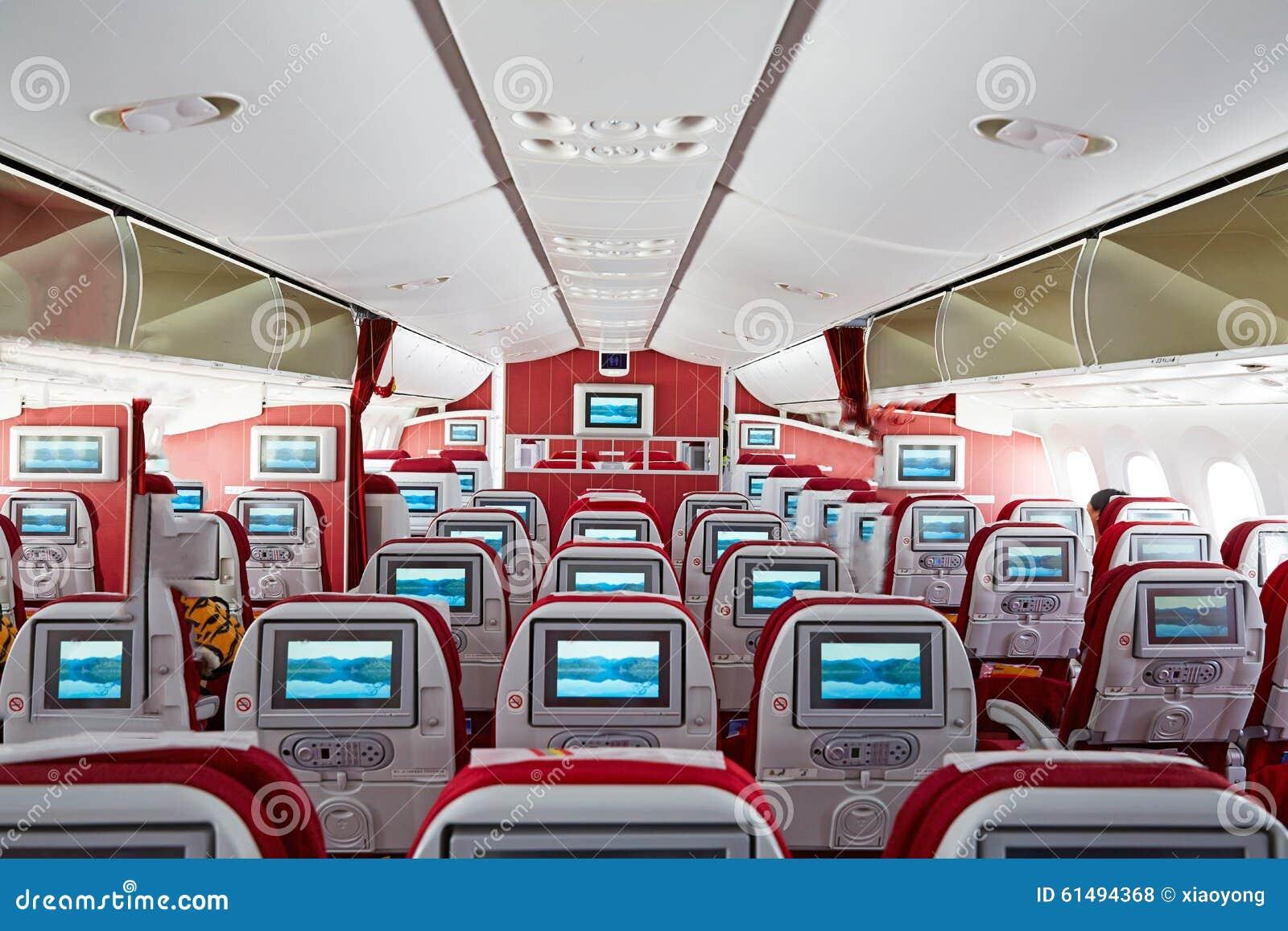 Boeing787 kabiny wnętrze