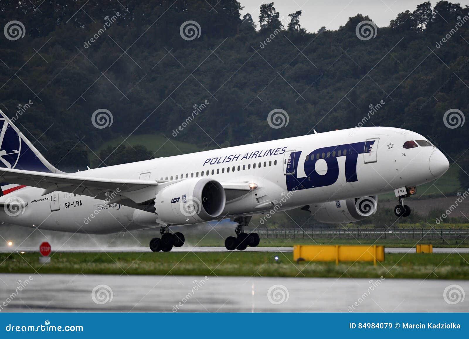 Boeing marcado LOTE 787 Dreamliner