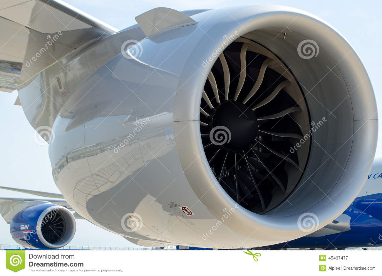 Boeing 747-400 moteurs