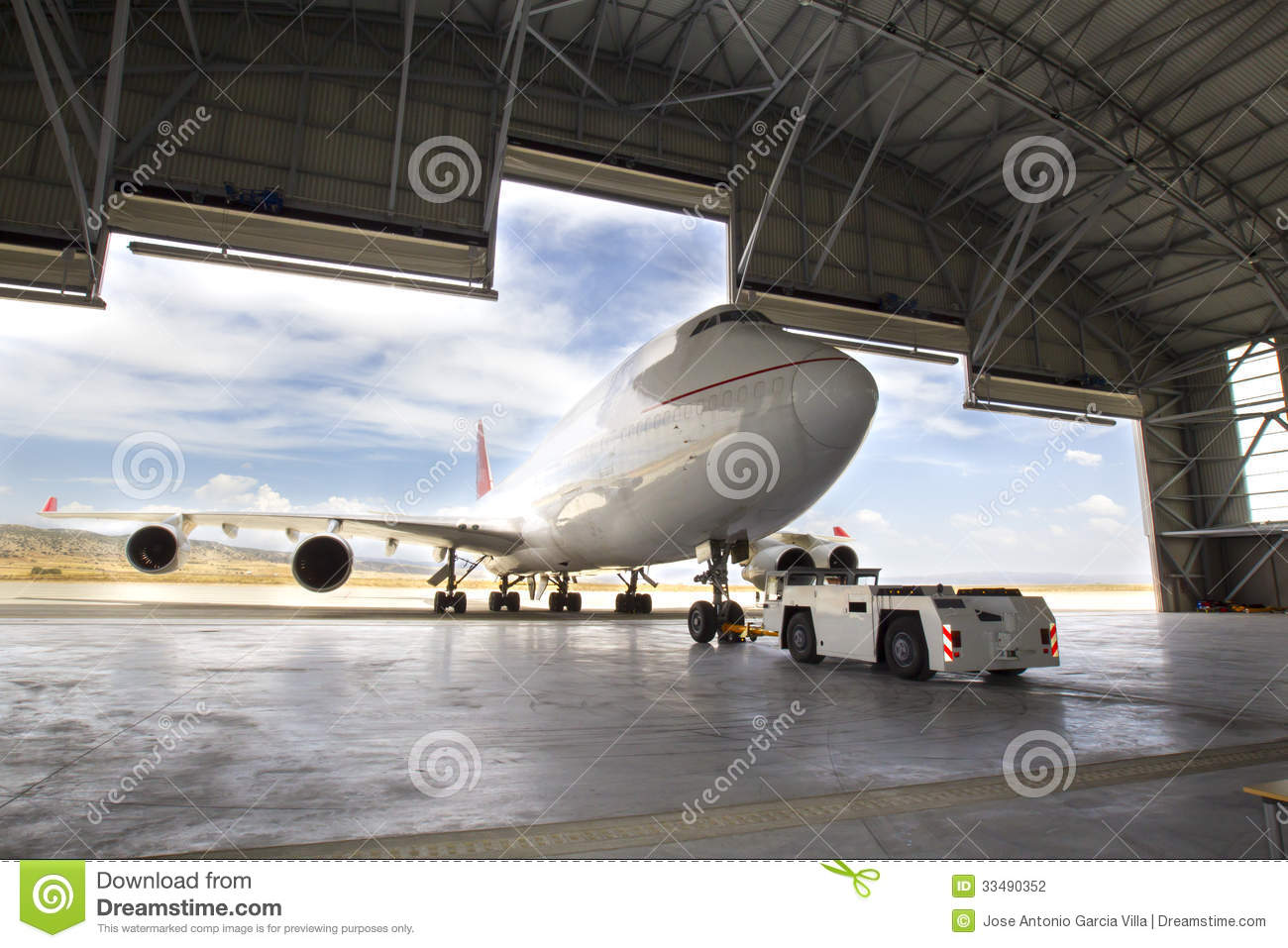 boeing 747 stock photography image 33490352