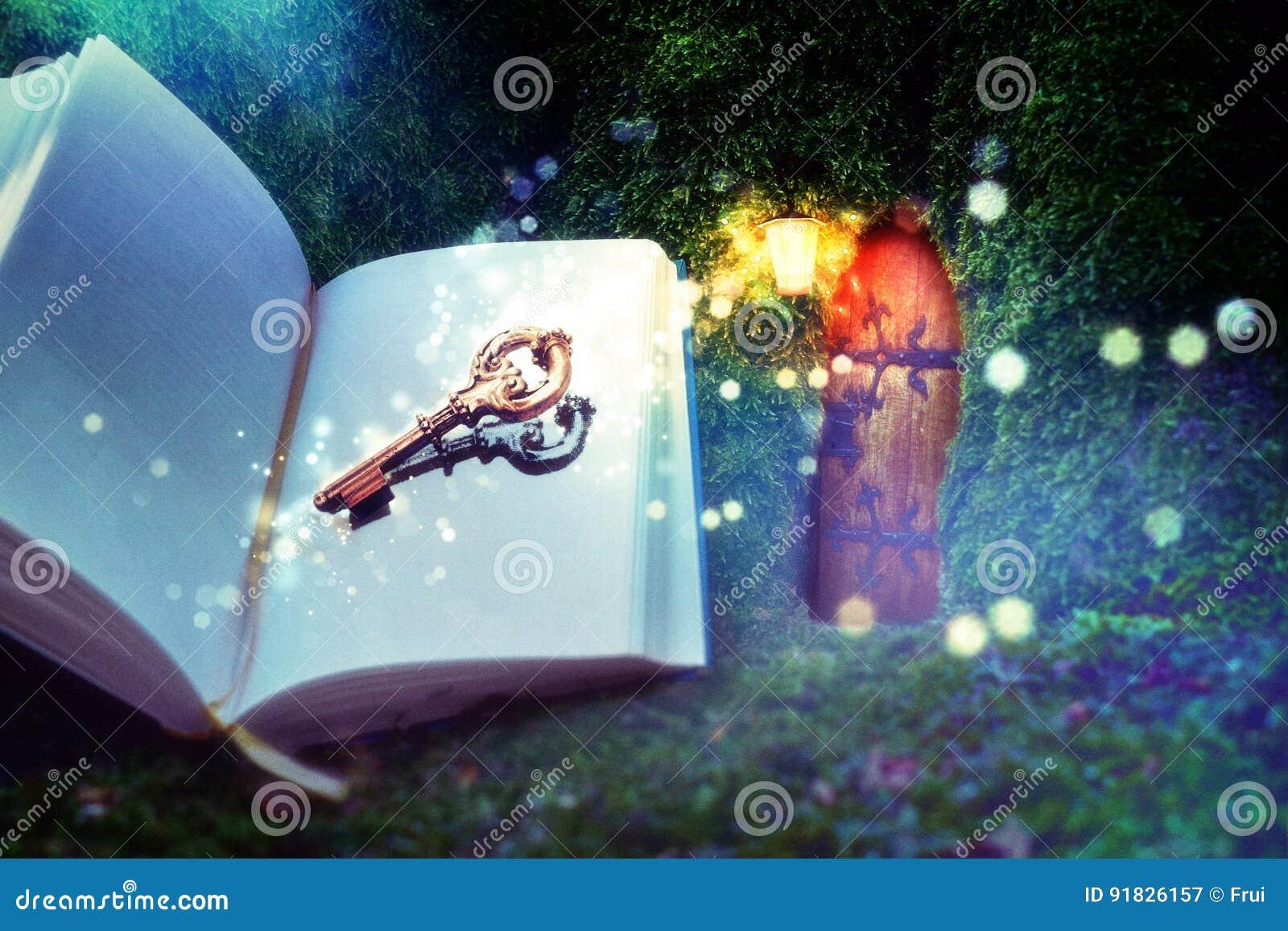 Boek en sleutel tot verbeelding