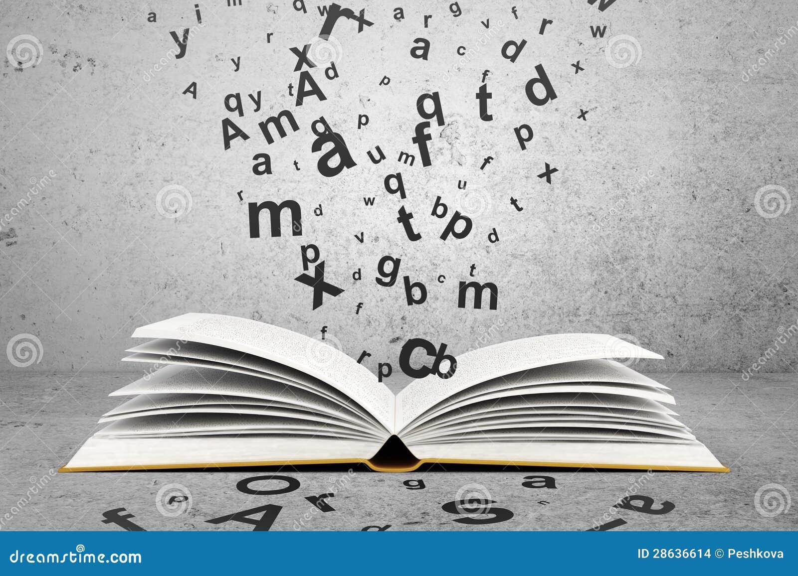 Boek met brieven