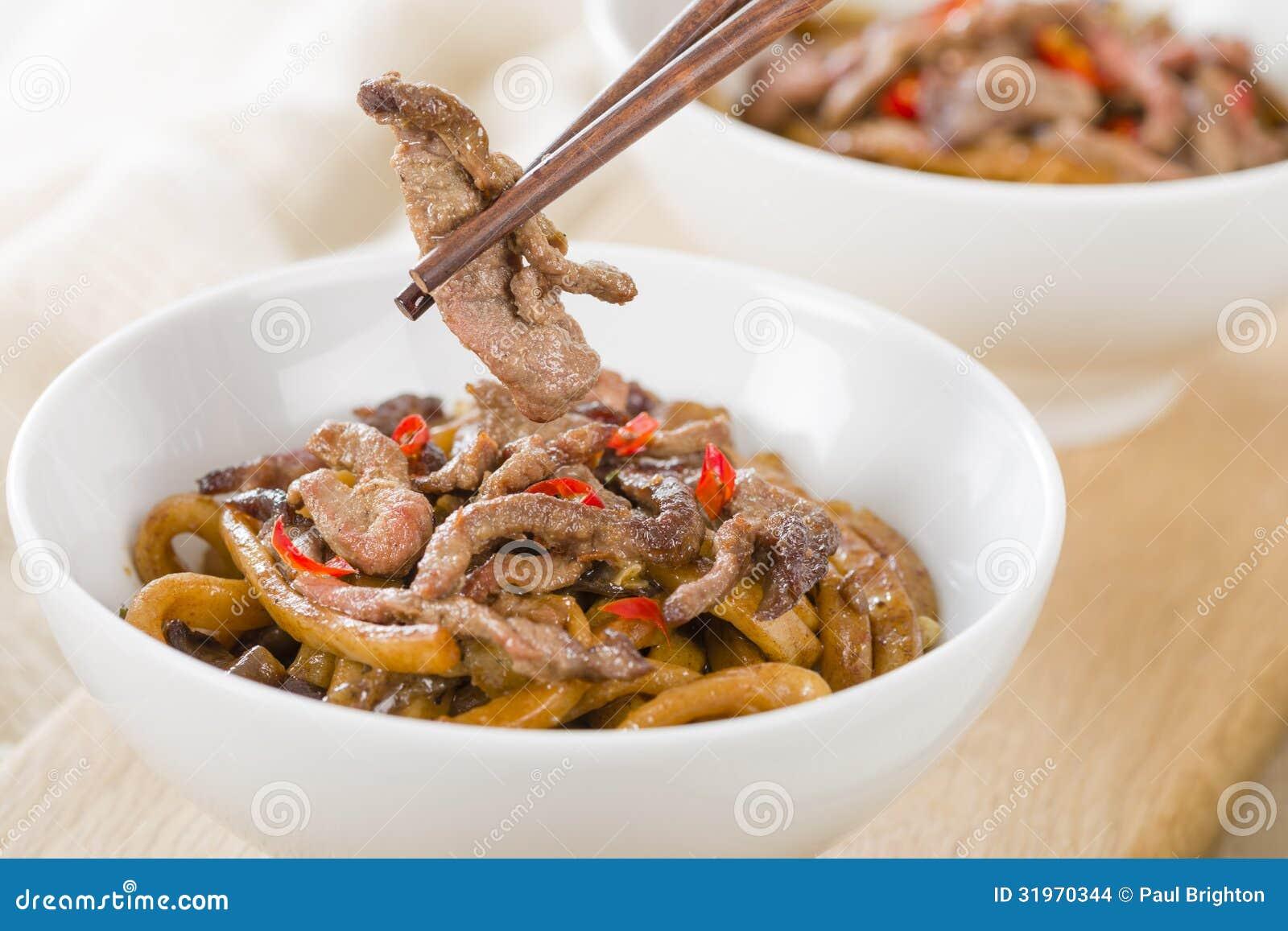 Boeuf épicé chinois et noir Bean Sauce
