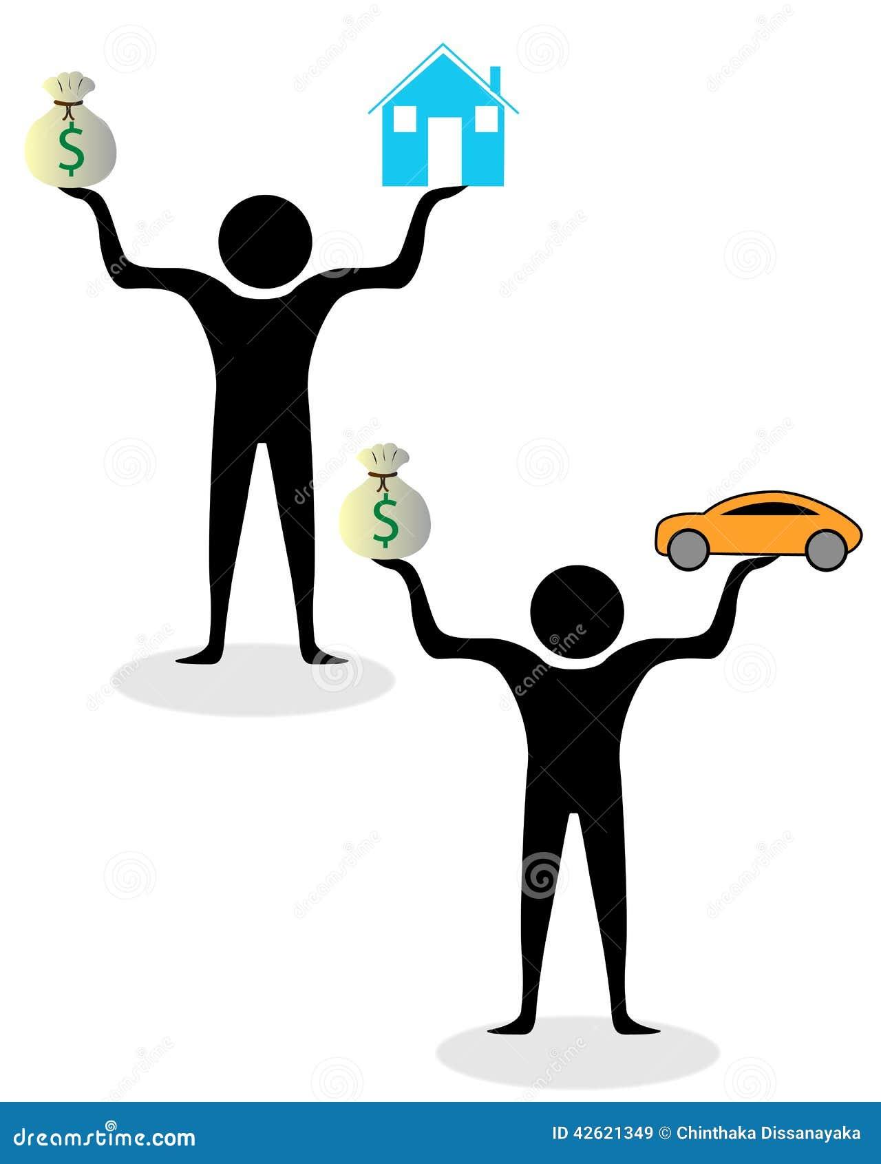 Bogactwo i pieniądze równowaga