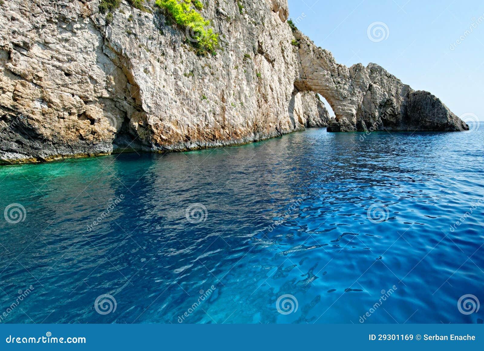 Bogen auf Zakynthos-Insel