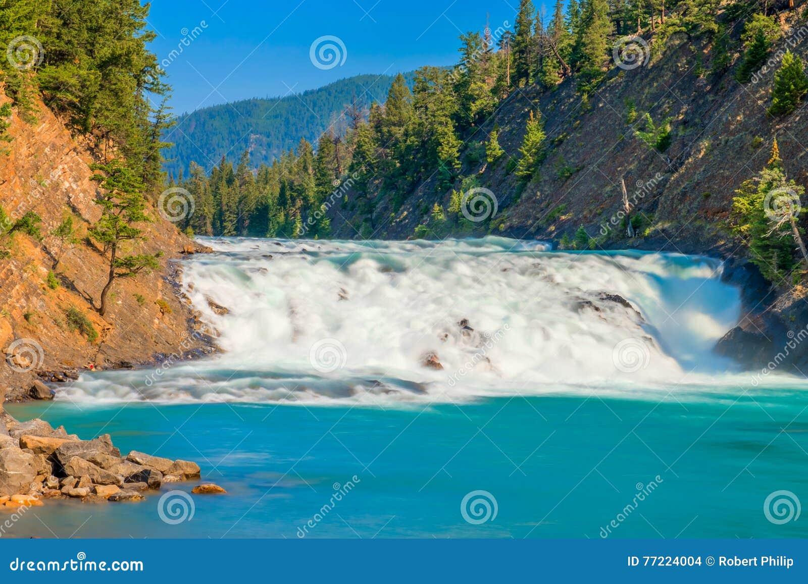 Bogen fällt auf Nationalpark Bogen-Fluss-Banffs
