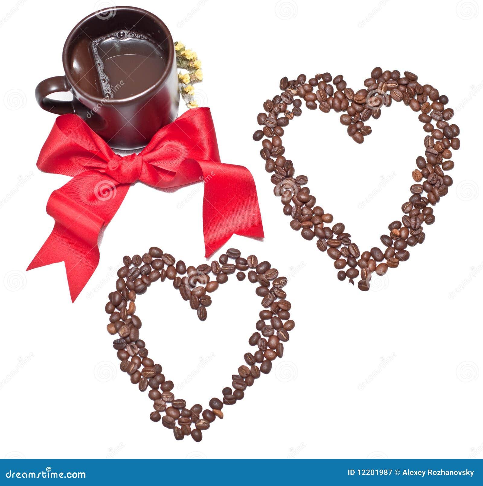 Bogen und Kaffee