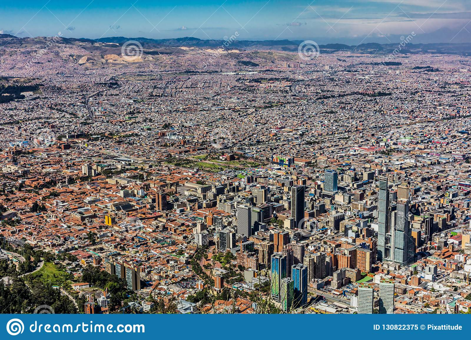 Bogota Skyline Cityscape Colombia Editorial Image - Image of ... on