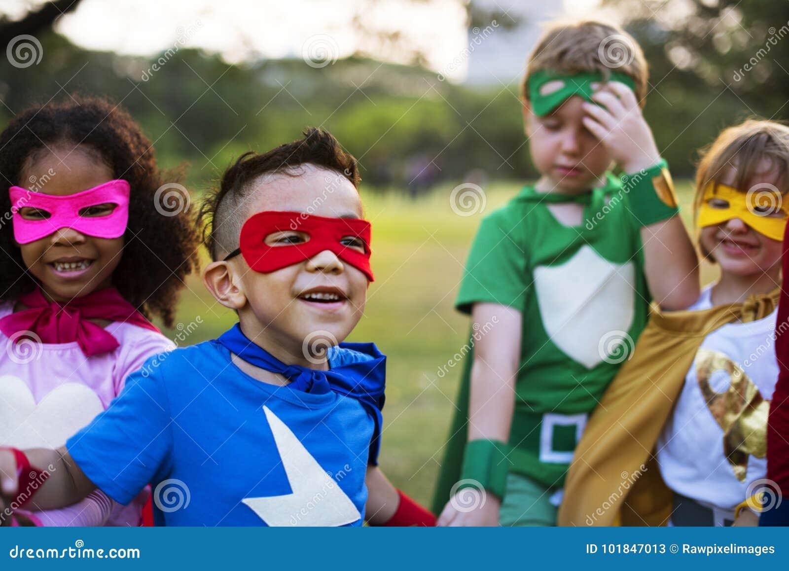 Bohaterów dzieciaki z supermocarstwami