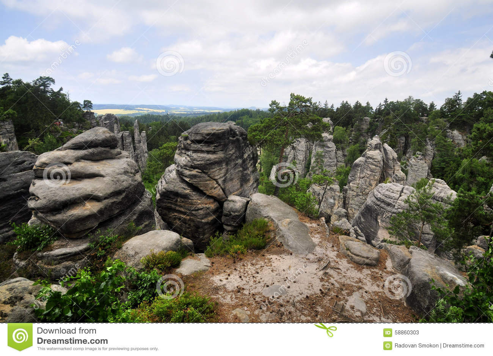 Boheems paradijs (Prachovske skaly)