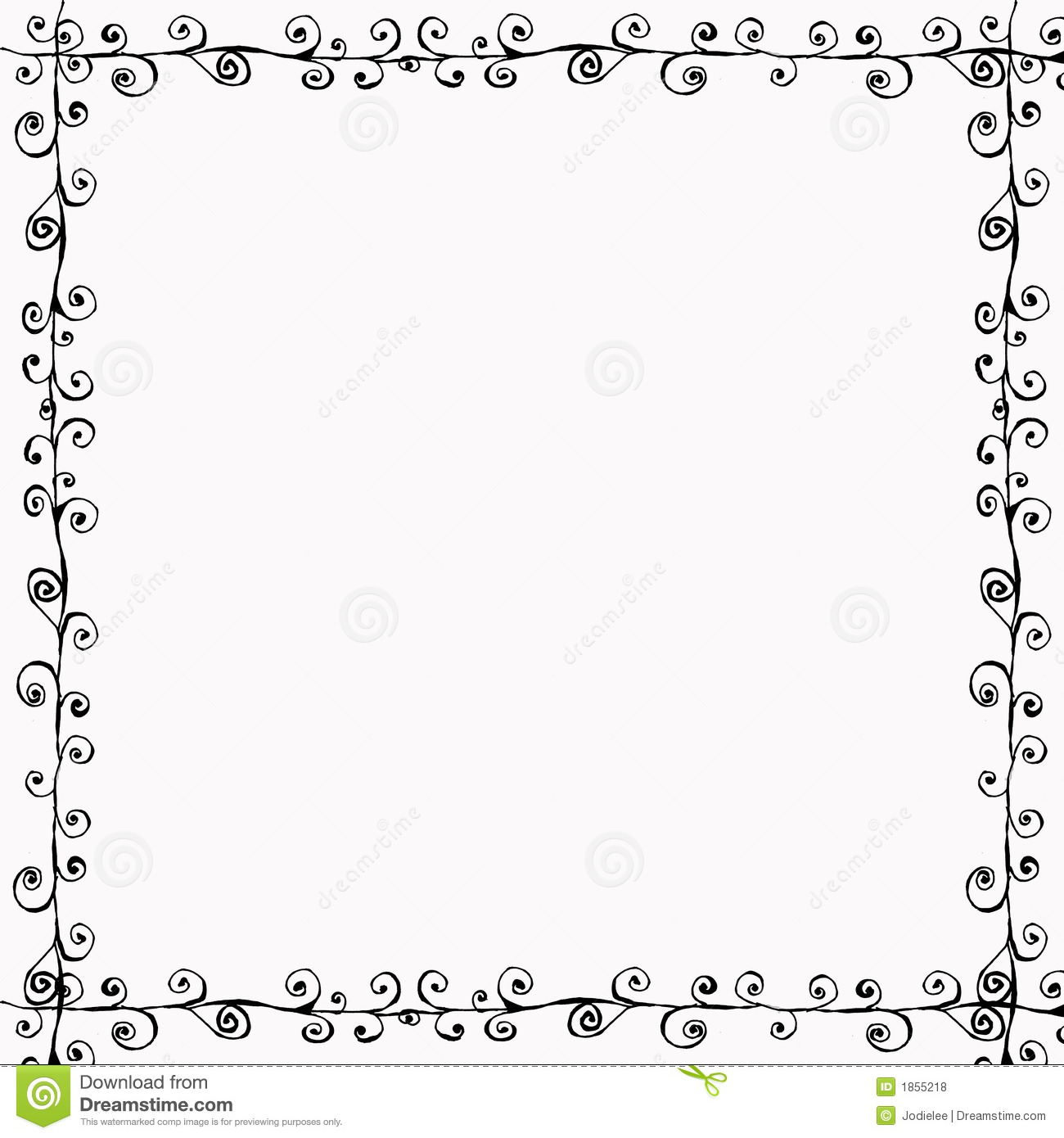 Bohemian Doodle Frame Royalty Free Stock Photos - Image ...