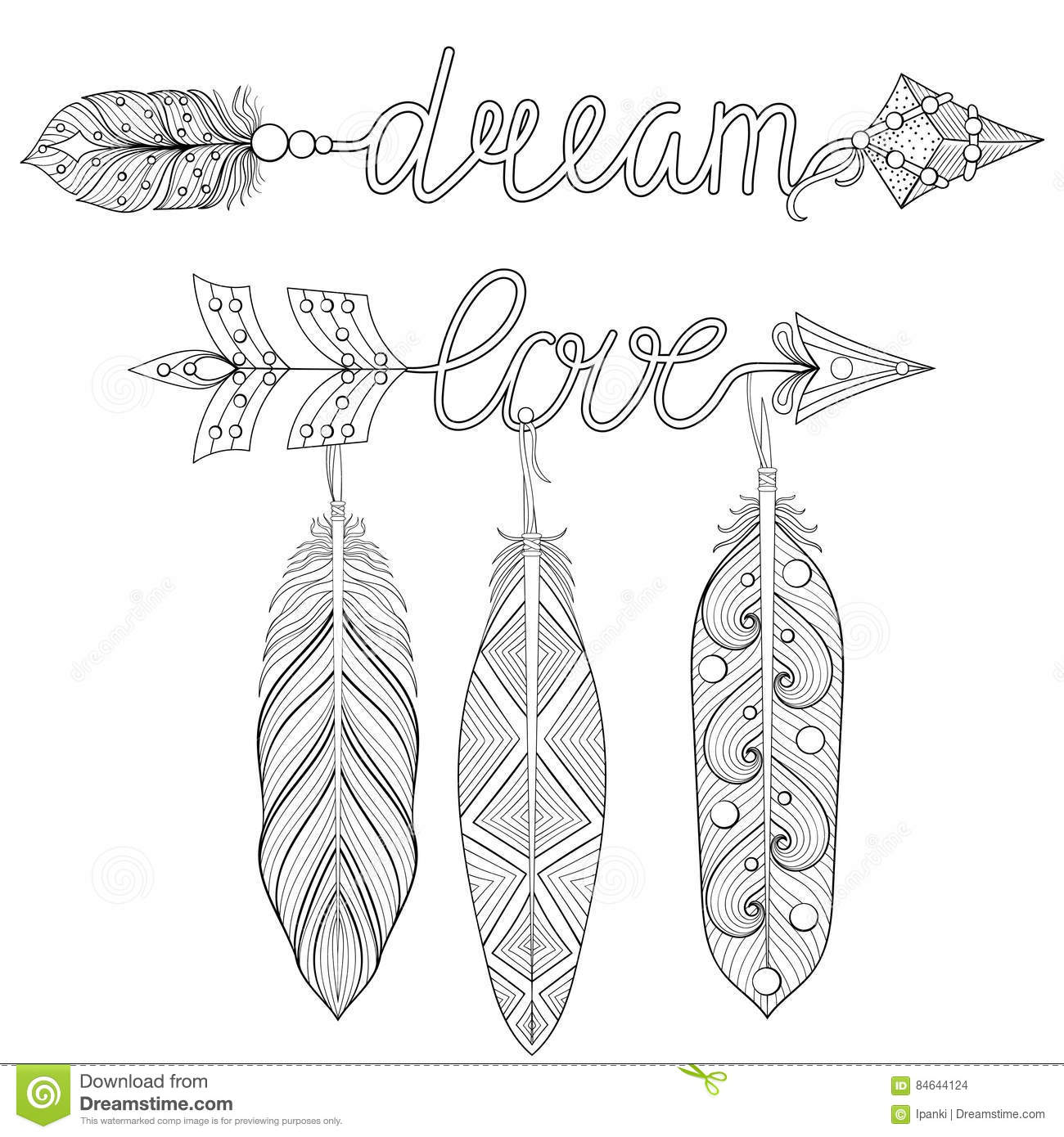 Feather free printable coloring pages for older kids | Free ... | 1390x1300