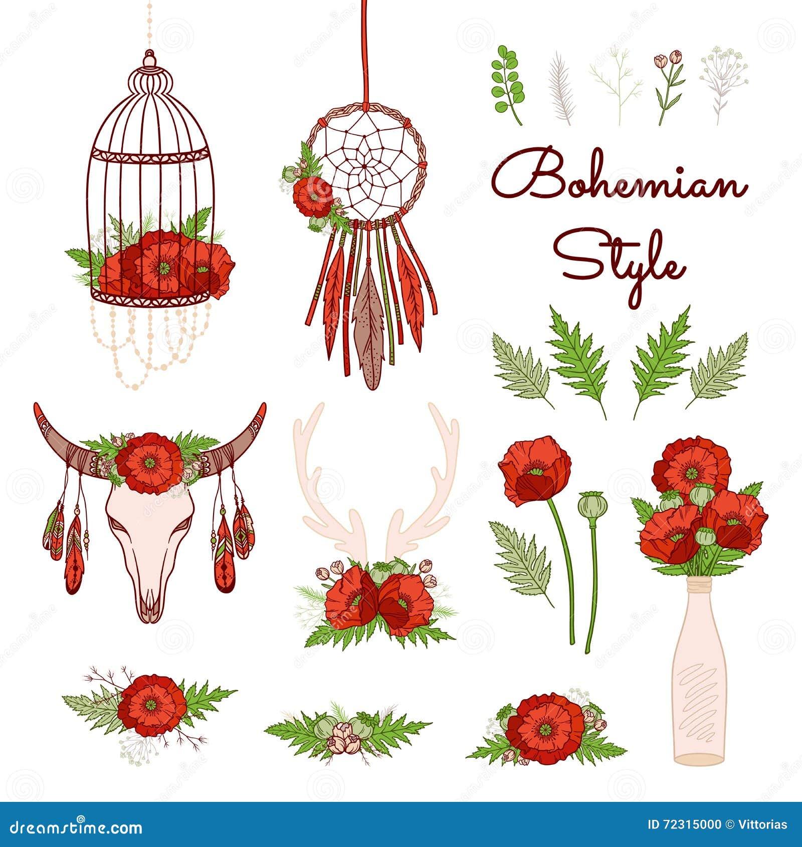 SIZE XL Bohemian Style Floral Print Dress Sexy Slash Neck ...  |Bohemian Style Flowers