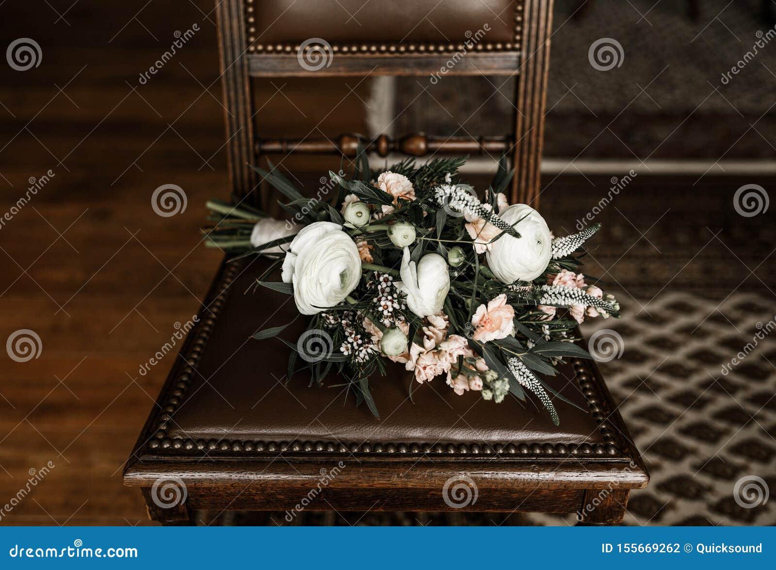 Bohemian Style Wedding Flowers Stock Photo Image Of Boho Romance 155669262