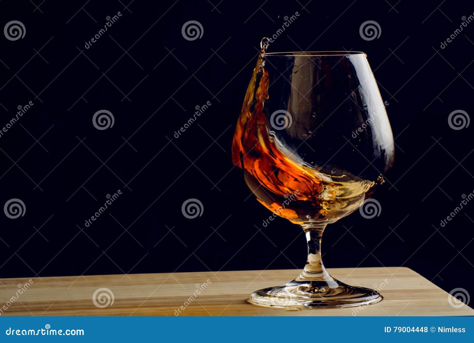 Bohemiskt exponeringsglas av konjak