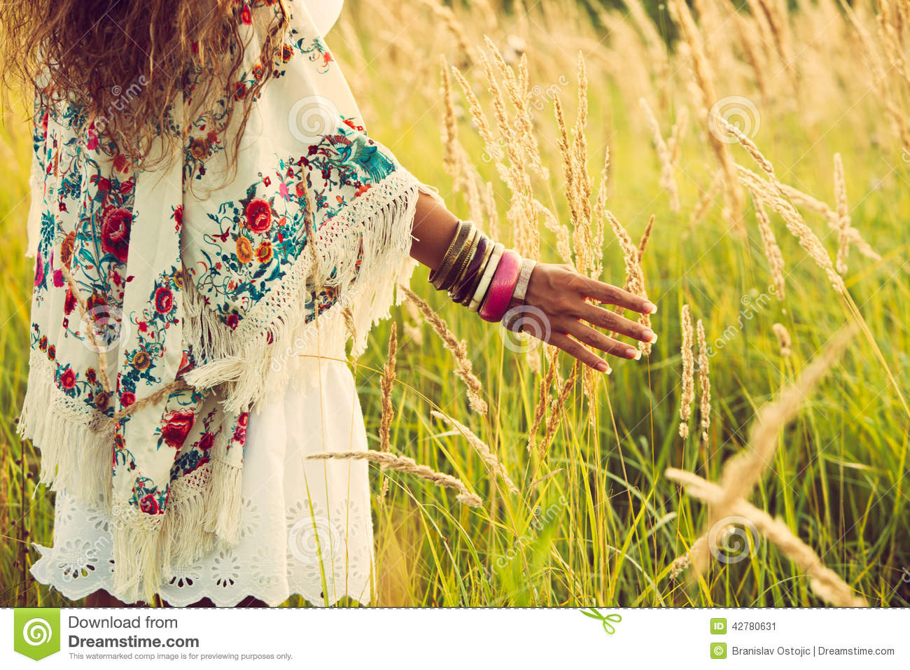 boho fashion stock photo image 42780631