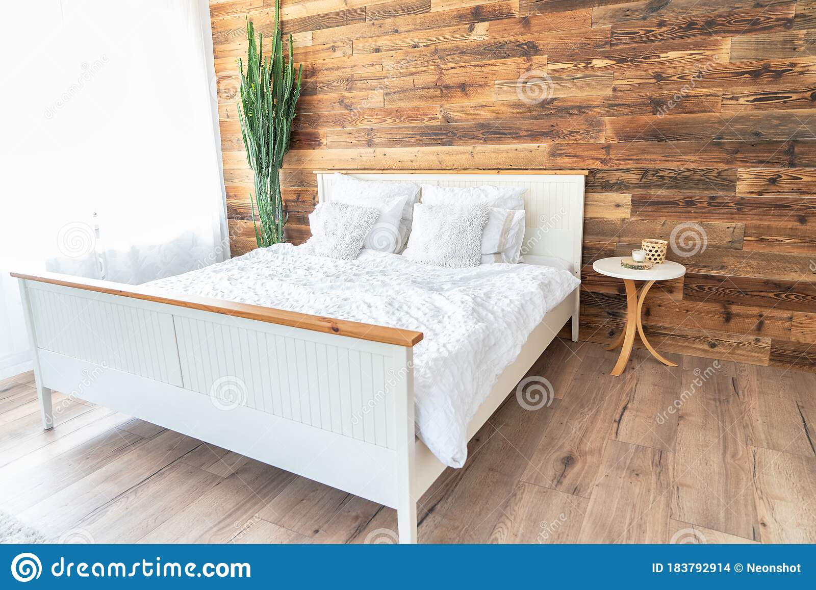 Boho Interior Style Bedroom Stock Photo Image Of Bedroom Living 183792914