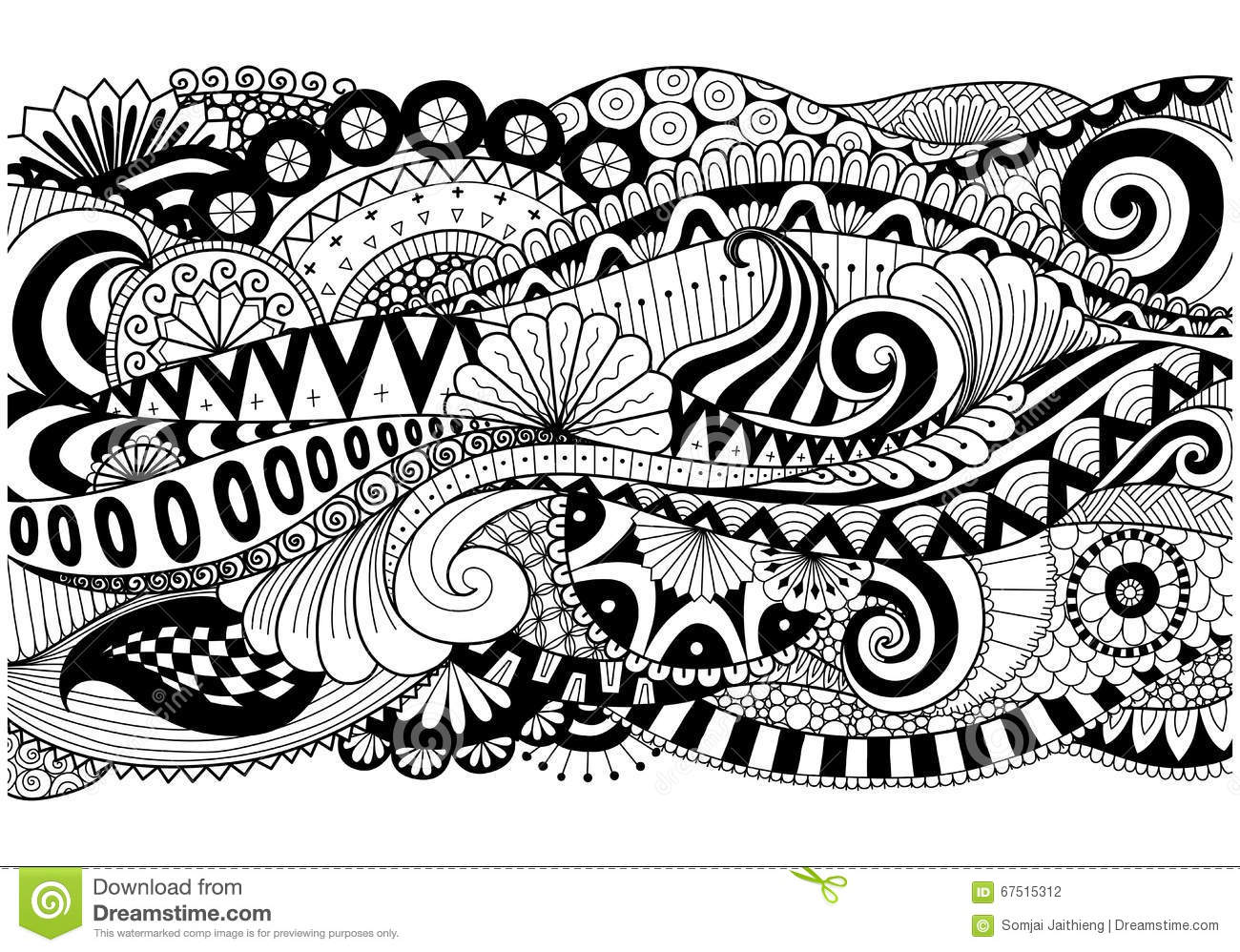 Download Boho Pattern For Background Decorationsbannercoloring Bookcards And So