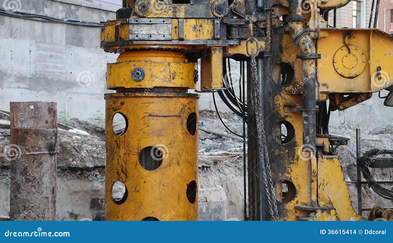Bohrbrunnen Stock Footage Video Von Metall Bohrung 36615414