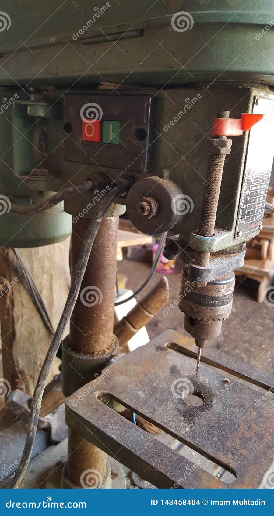 Bohrgerätsitzen, technische Ausrüstung für verschiedene Arbeit