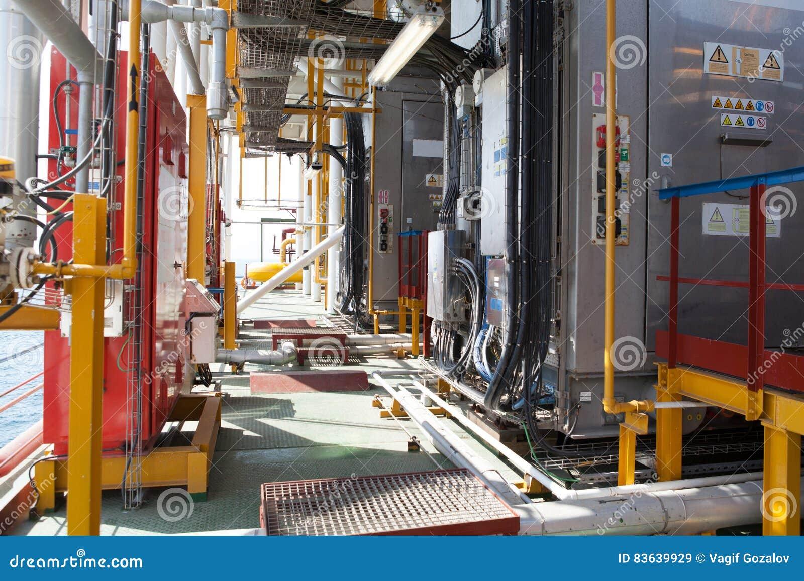 Bohrinselrohrleitung und DruckUmfüllsystem